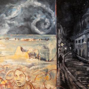 """The Upward Spiral"" by Daniel Papke"